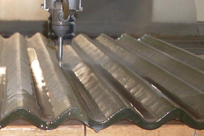 Glass Waterjet Cutting