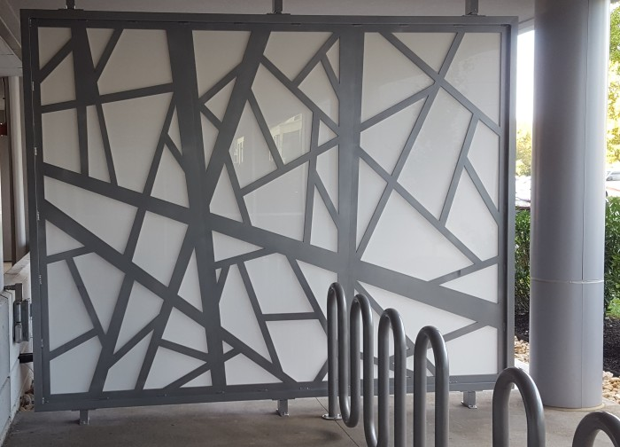 decorative aluminum panel